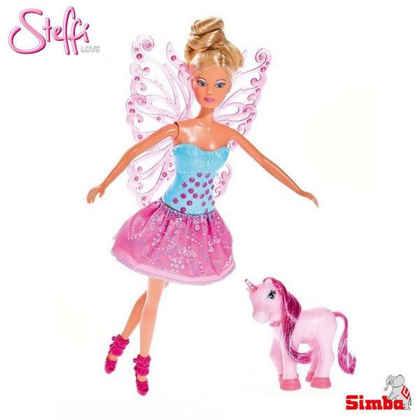 Simba Steffi Love Кукла Стефи фея с еднорог 105733021