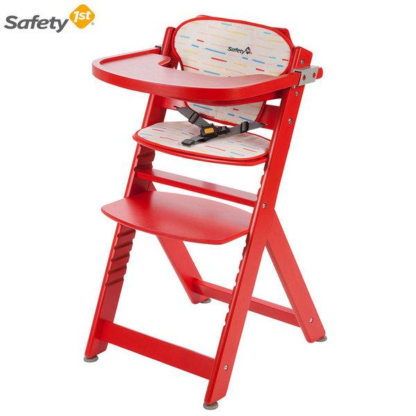 Safety 1st Дървен стол за хранене Timba Redline 2760260000