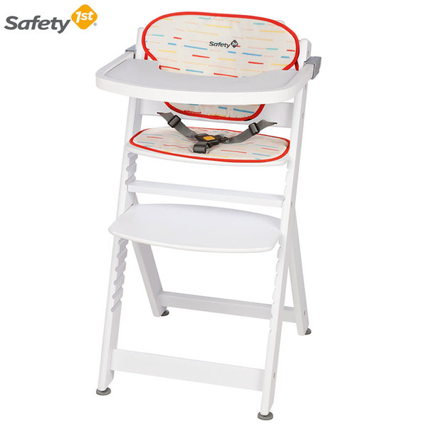 Safety 1st Дървен стол за хранене Timba White 2760431001