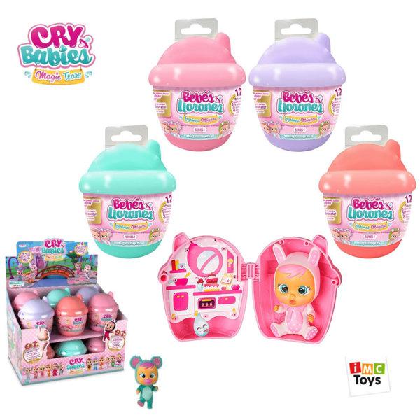 IMC Toys Мини плачеща кукла със сълзи Crybabies 97629