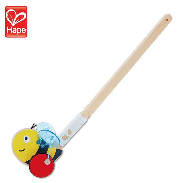 Hape Дървена играчка за бутане пчеличка H0356