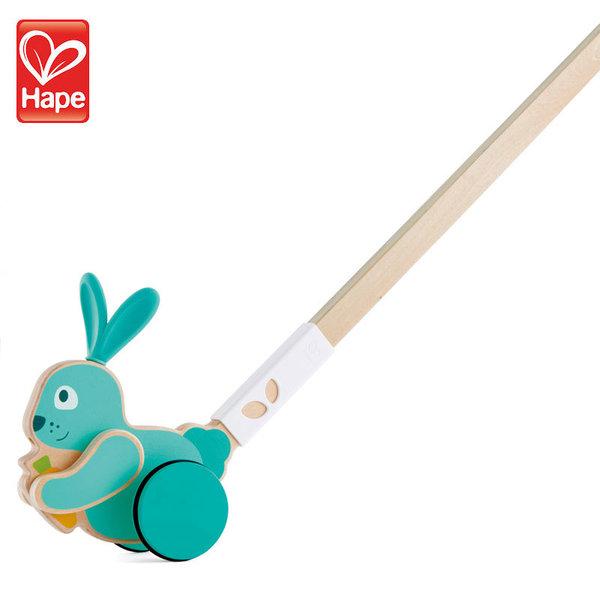 Hape Детска играчка за бутане зайче H0358