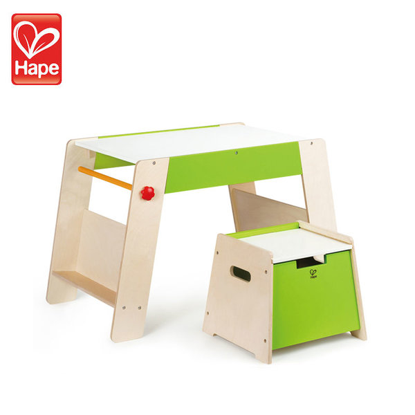Hape Комплект дървена маса и столче H1015