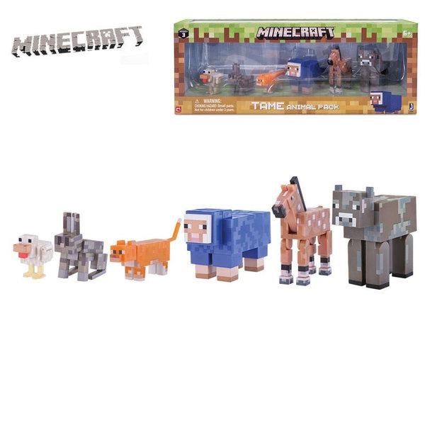 MINECRAFT - Детски комплект Животни 16591