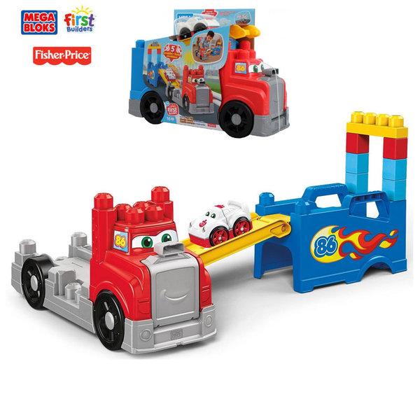 Fisher Price Mega Bloks Камион със строителни блокчета FVJ01