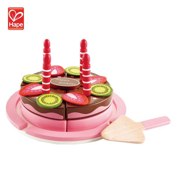 Hape Детска дървена торта на два етажа H3140