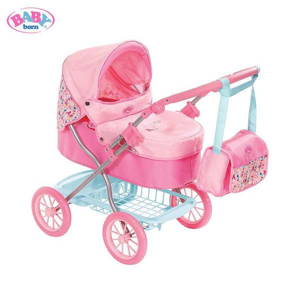 Baby Born Луксозна количка за кукла Бейби Борн 825778