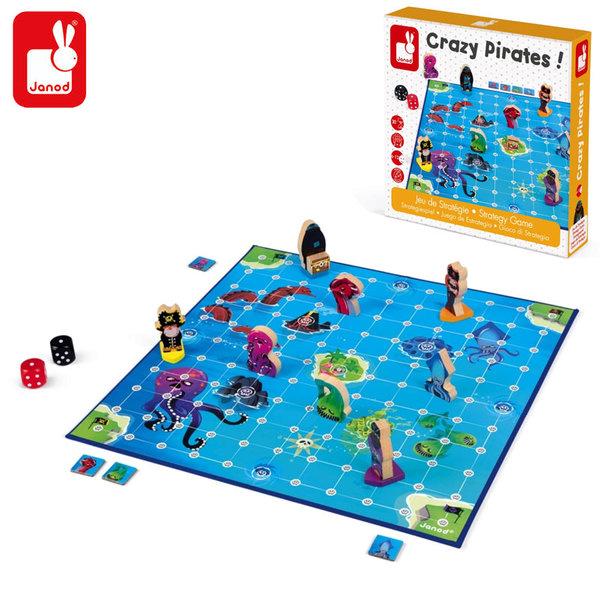Janod Детска стратегическа игра Луди пирати J02740