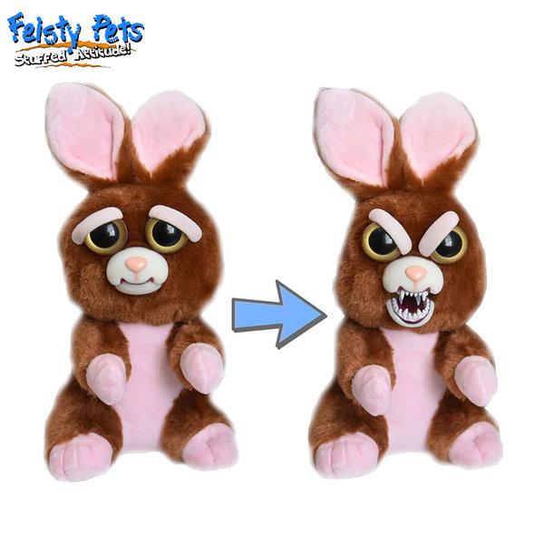 Feisty Pets Плашеща плюшена играчка Заек 32323