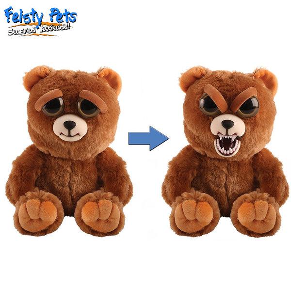 Feisty Pets Плашеща плюшена играчка Мечка 32321