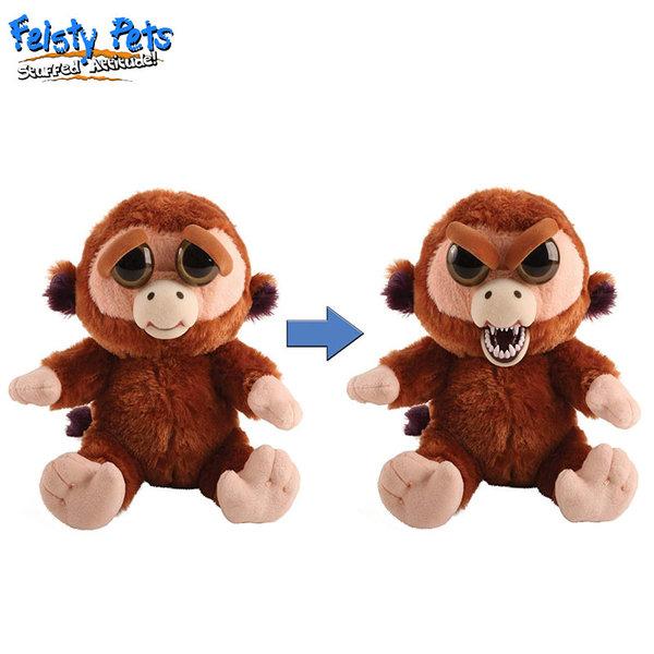Feisty Pets Плашеща плюшена играчка Маймуна 32322