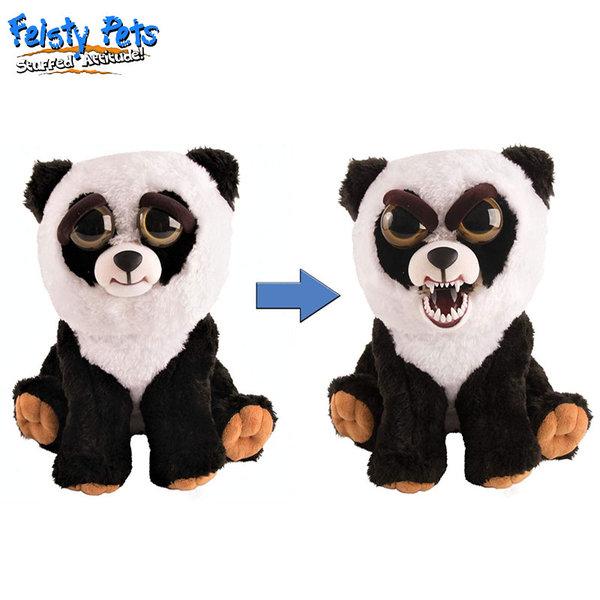 Feisty Pets Плашеща плюшена играчка Панда 32324