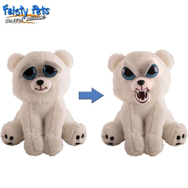 Feisty Pets Плашеща плюшена играчка Полярна мечка 32326