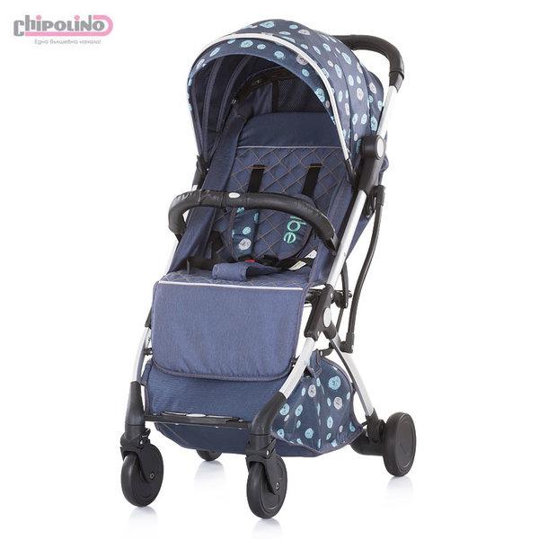 Chipolino Детска количка Вайб деним скай