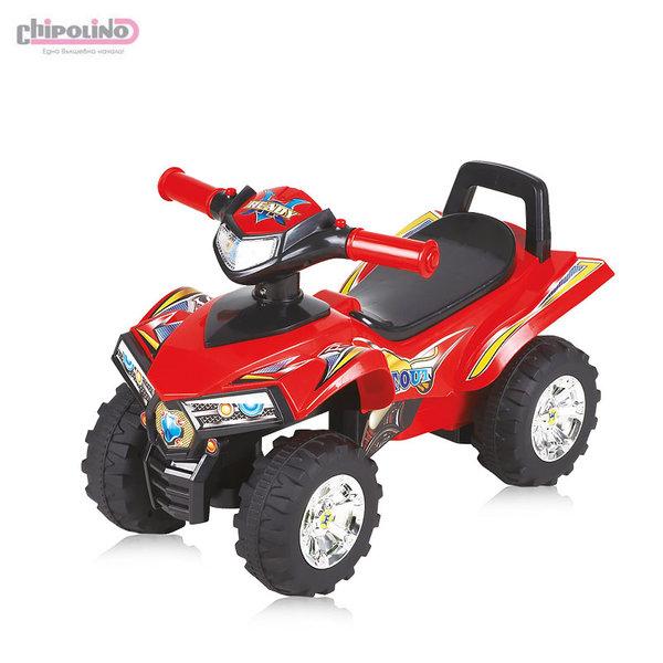 Chipolino Кола за яздене ATV червена