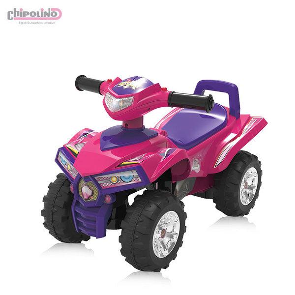 Chipolino Кола за яздене ATV розова