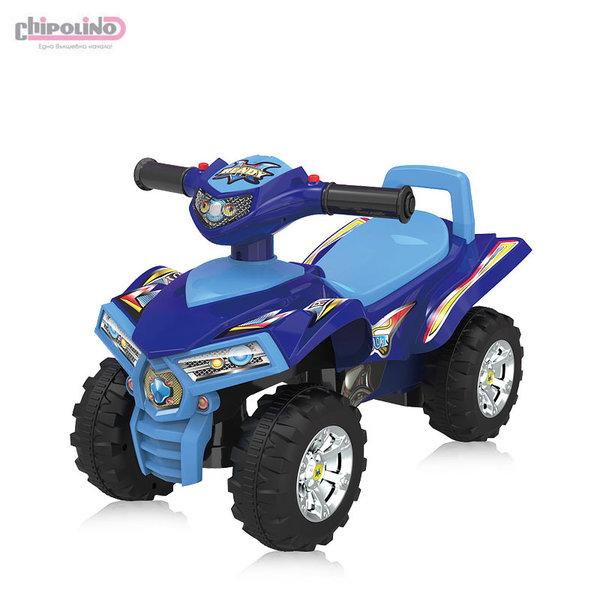 Chipolino Кола за яздене ATV синя