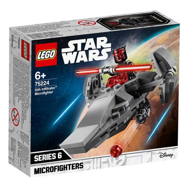 Lego 75224 Star Wars Ситско проникване с микрофайтър