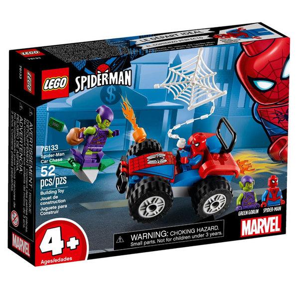 Lego 76133 Super Heroes Спайдърмен преследване с кола
