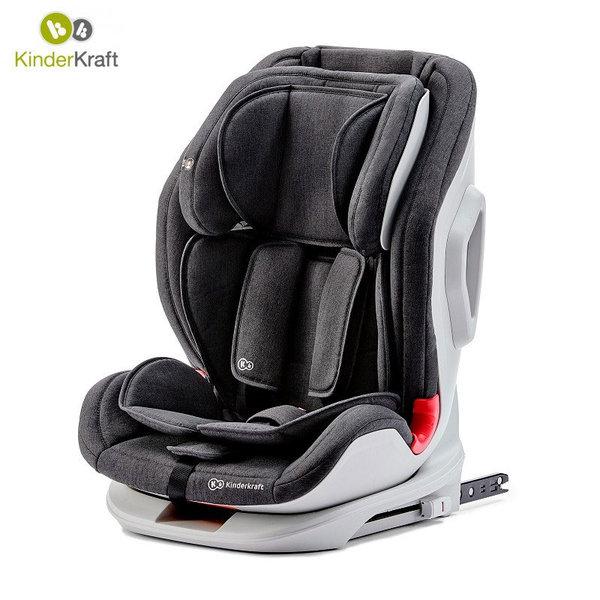 KinderKraft Столче за кола Oneto3 с Isofix (9-36кг) Черно