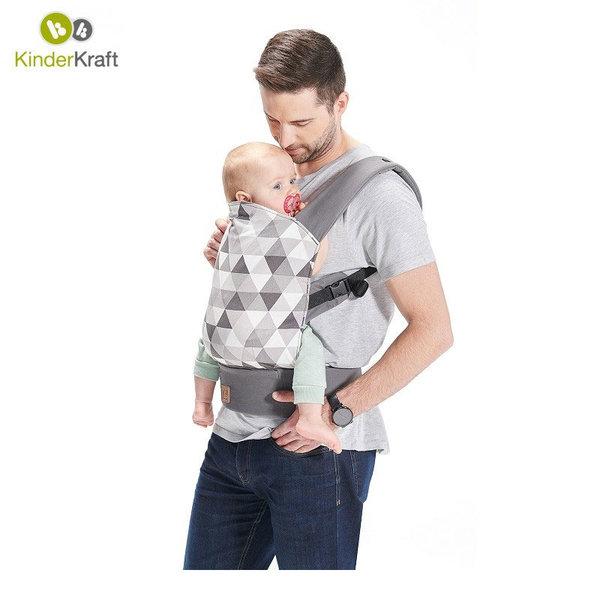 KinderKraft Кенгуру за бебе NINO сиво 22360