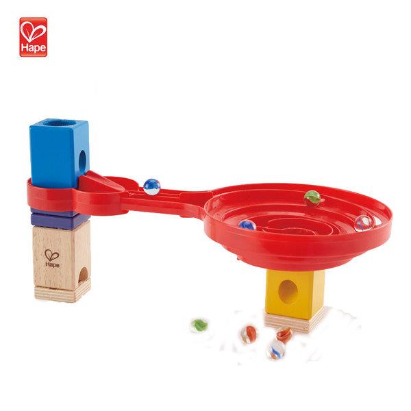 Hape Детска дървена игра спирала с топчета H6026