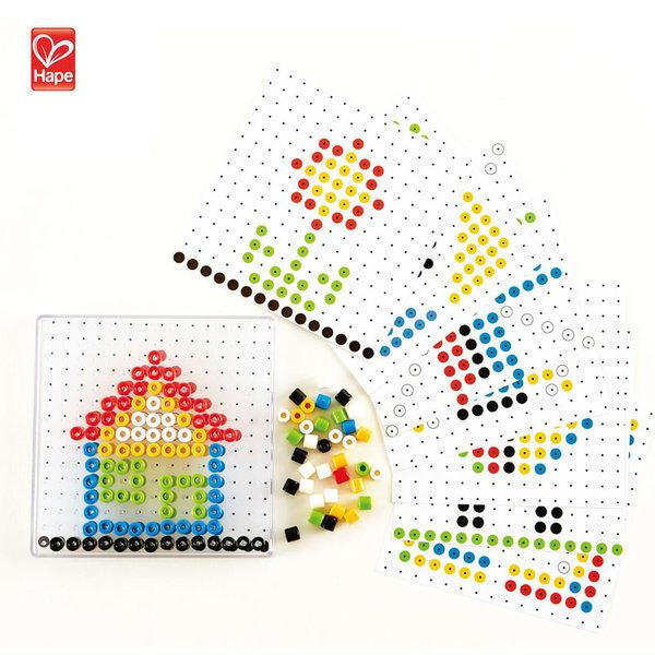 Hape Детска мозайка с мъниста H6310