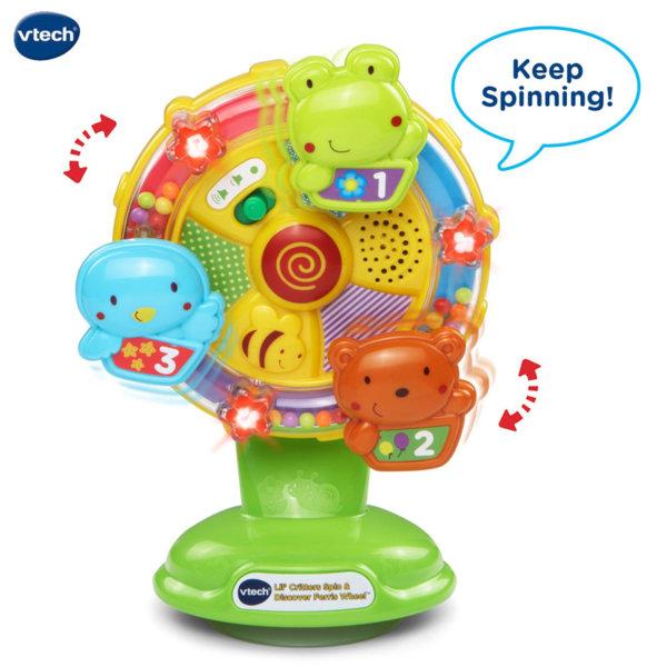Vtech Бебешка музикална играчка Пеещо колело 165903