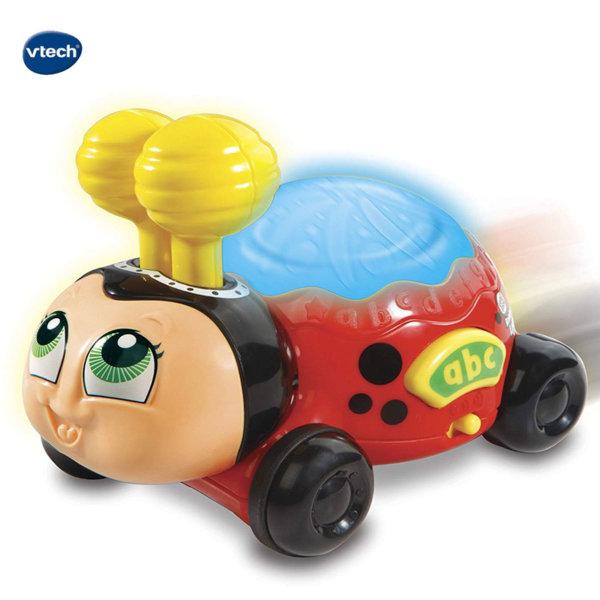 Vtech Детска количка Светеща калинка 601603