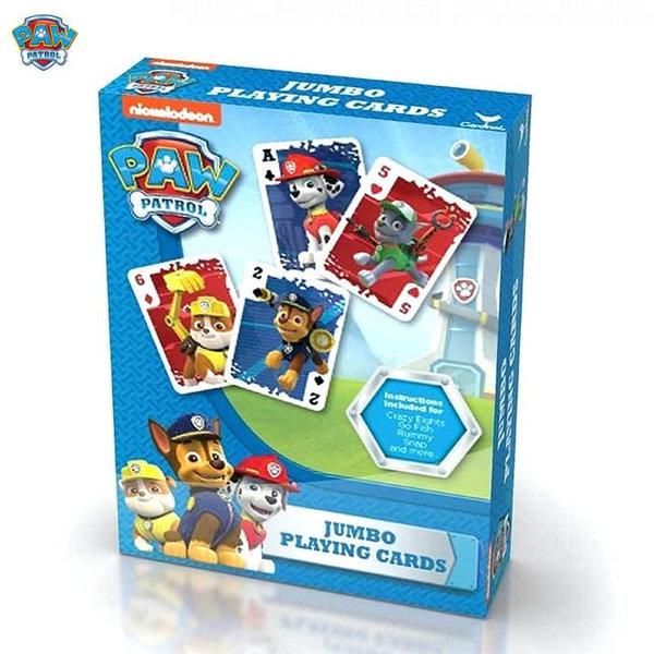 Paw Patrol Детски карти за игра Пес Патрул 58558