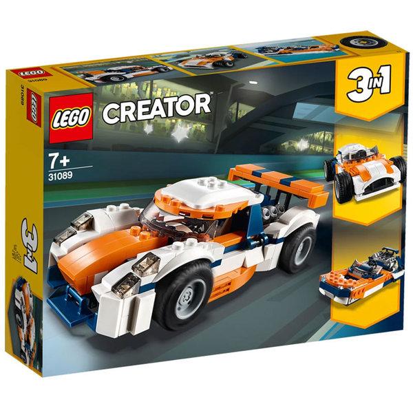 Lego 31089 Creator Състезателен автомобил - залез