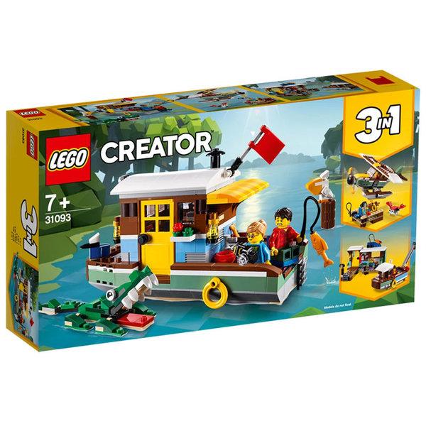 Lego 31093 Creator Плаваща къща в реката