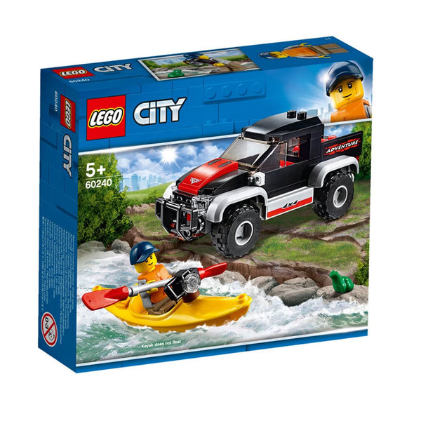 Lego 60240 City Приключение с каяк