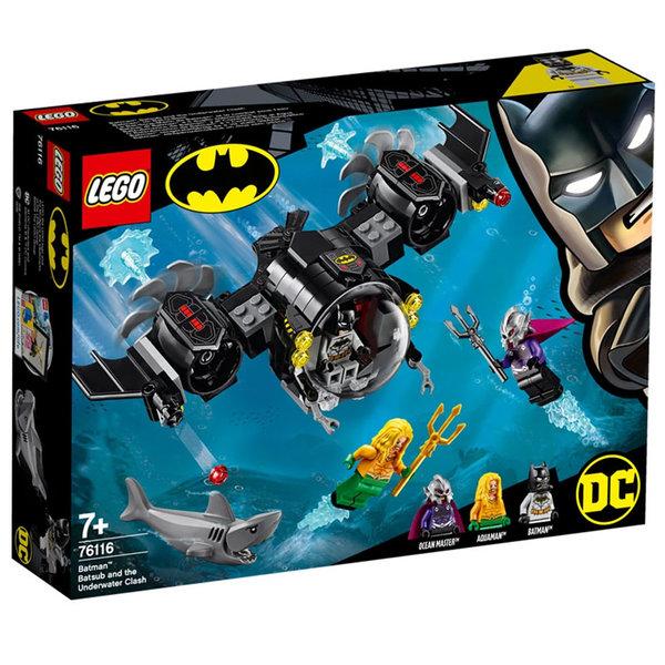 Lego 76116 Super Heroes Batman Бат-подводница и подводна битка