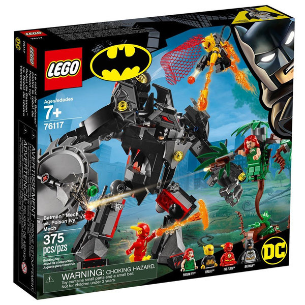 Lego 76117 Super Heroes Batman Mech срещу Poison Ivy™ Mech