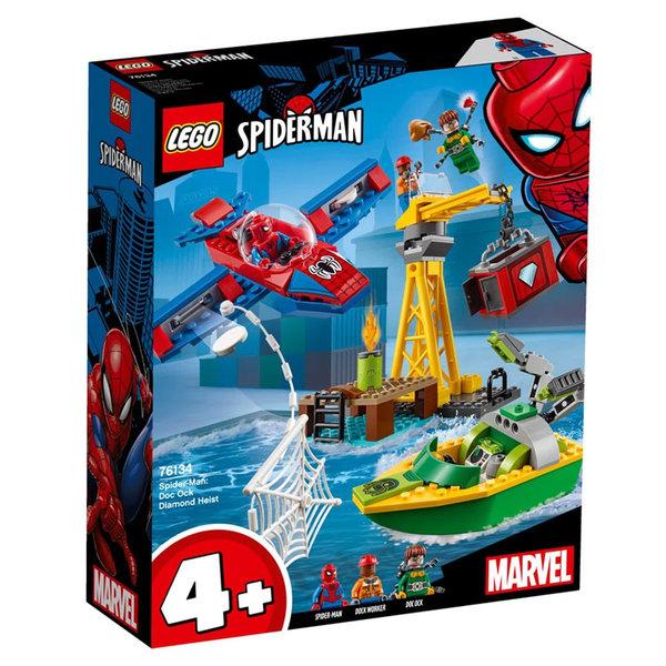 Lego 76134 Super Heroes Спайдърмен Кражба на диаманти с Dock Ock