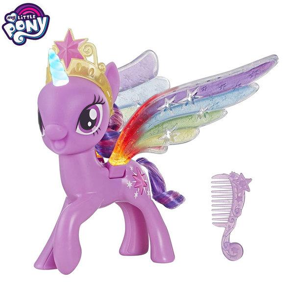 My Little Pony Моето малко пони със светлина и подвижни крила Twilight Sparkle E2928