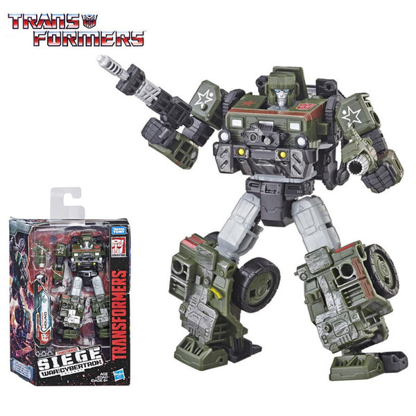Transformers Generations War for Cybertron: Siege Deluxe Трансформърс Autobot Hound E3432