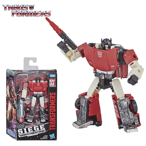 Transformers Generations War for Cybertron: Siege Deluxe Трансформърс Sideswipe E3432
