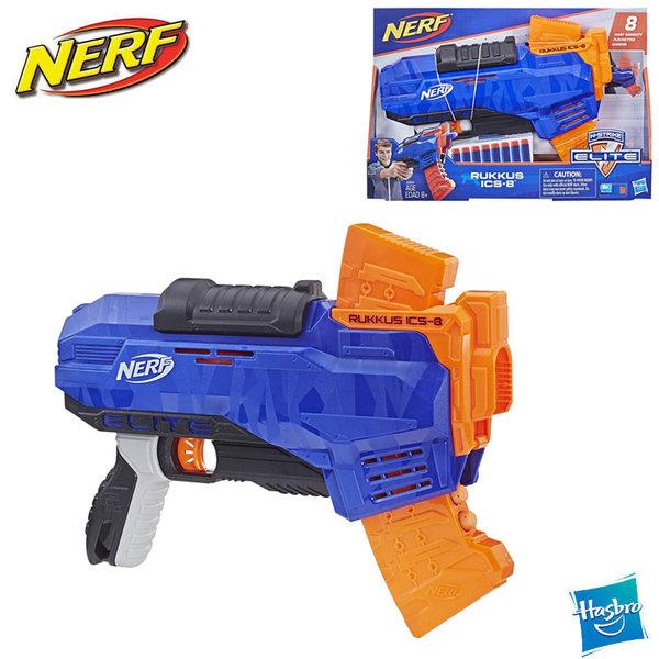 Nerf Бластер N-Strike Elite Rukkus ICS-8 E2654