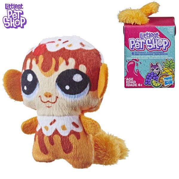 Littlest Pet Shop Малки домашни любимци Плюшена маймунка с пухкава опашка E2968