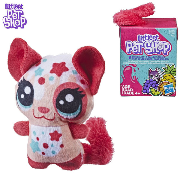 Littlest Pet Shop Малки домашни любимци Плюшена чинчила с пухкава опашка E2968