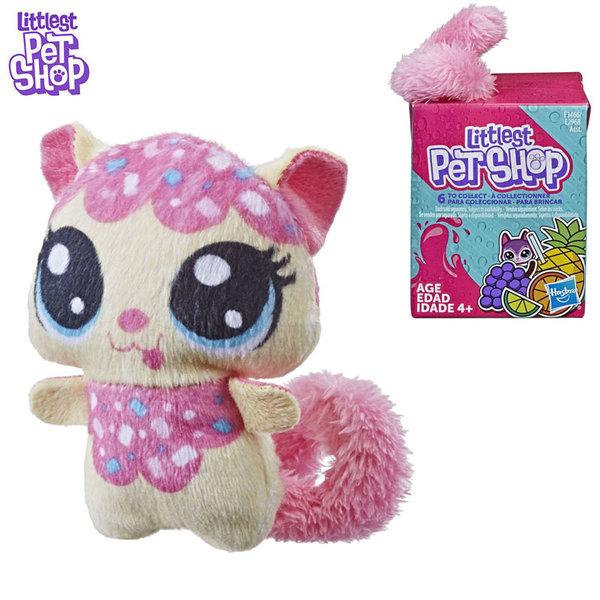 Littlest Pet Shop Малки домашни любимци Плюшено коте с пухкава опашка E2968