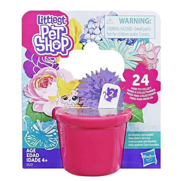 Littlest Pet Shop Малки домашни любимци Случайна мини фигурка 2 броя в опаковка e5237