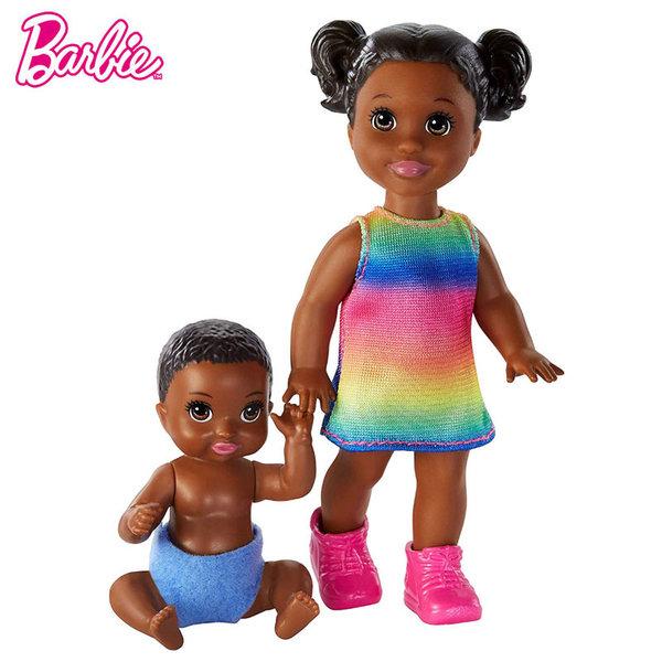 Barbie Skipper Babysitters Барби детегледачка Малка кукла и бебе GFL30