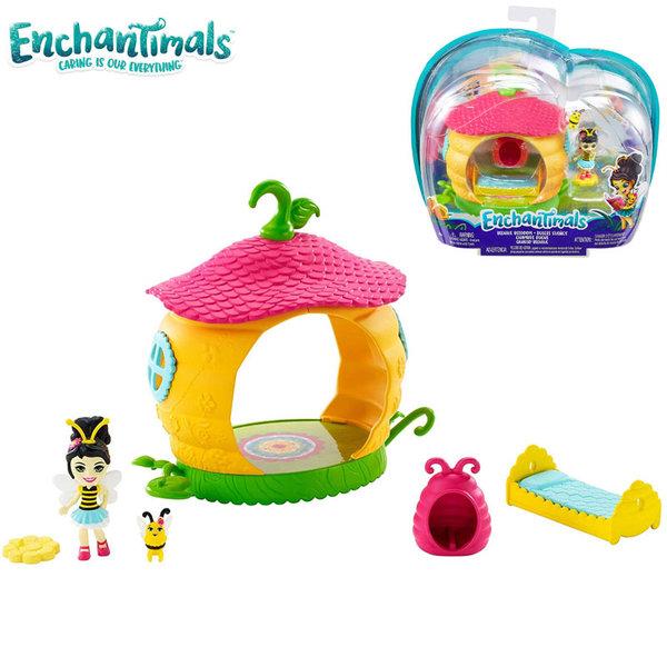 Enchantimals Комплект за игра Спалнята на малката Пчеличка FXM96