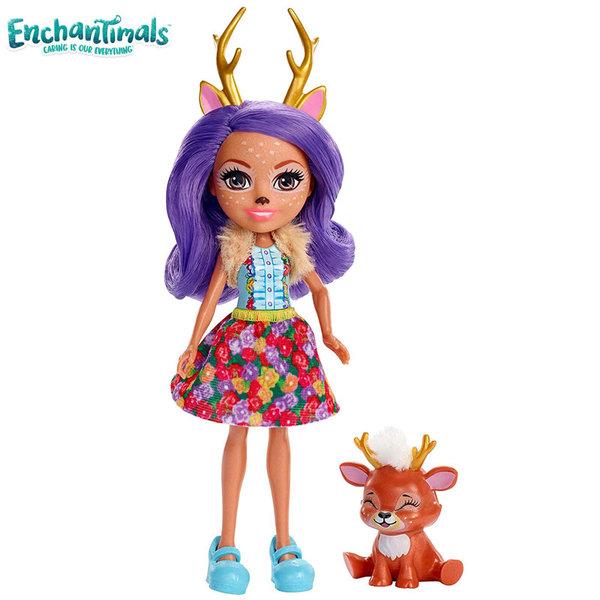Enchantimals Пазители на гората Кукла с животно еленче FXM75
