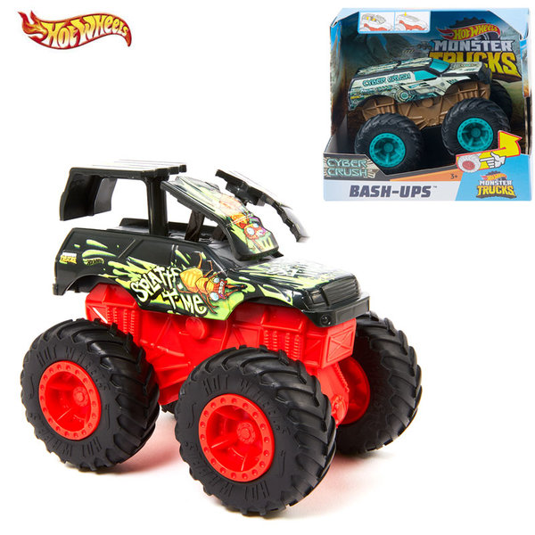 Hot Wheels Голямо бъги Monster Trucks 1:43, асортимент GCF94