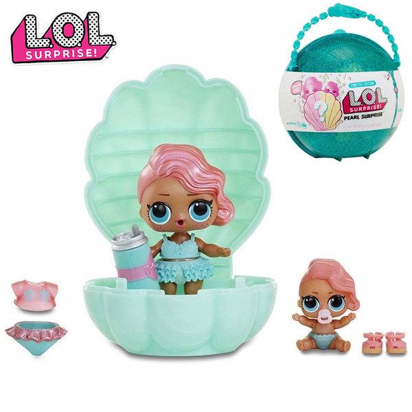 LOL Surprise Кукла в раковина L.O.L  Pearl Surprise тюркоаз 554622E5C