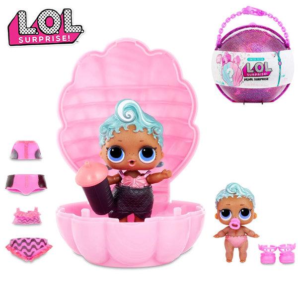 LOL Surprise Кукла в раковина L.O.L Pearl Surprise розова 554639E5C